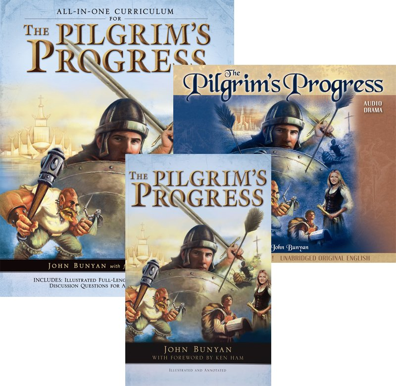 The Pilgrims Progress (Unabridged & Annotated with the complete Bible references)