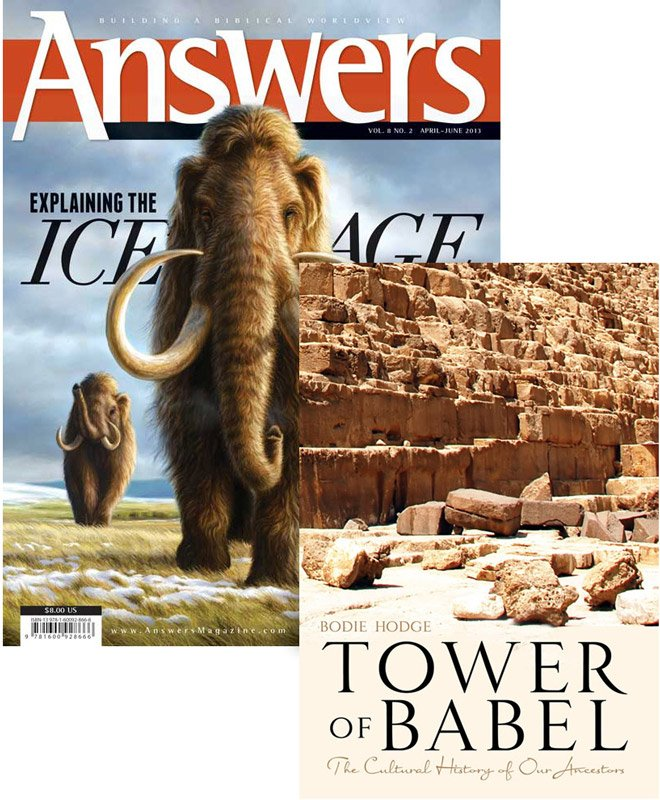 Tower Of Babel Book Amp Ice Age Magazine Combo Answers In