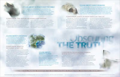 BioLogos—Obscuring the Truth Wall Chart