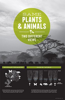 Same Plants & Animals, Two Different Views