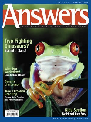 Answers Magazine, Single Issue - Vol. 1 No. 1