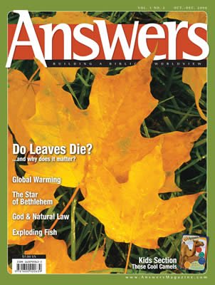 Answers Magazine, Single Issue - Vol. 1 No. 2