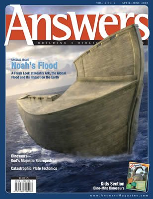 Answers Magazine, Single Issue - Vol. 2 No. 2
