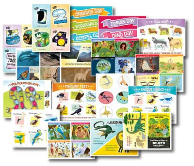 IncrediWorld VBS: Toddler Illustration Posters