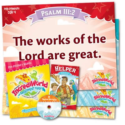 IncrediWorld VBS: Pre-Primary Teacher Resource Pack: NKJV