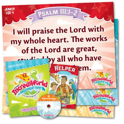IncrediWorld VBS: Junior Teacher Resource Pack: KJV