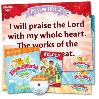 IncrediWorld VBS: Primary Teacher Resource Pack: KJV