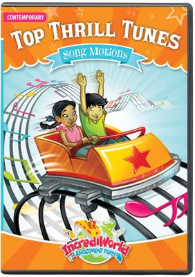 IncrediWorld VBS: Song Motions DVD: Contemporary