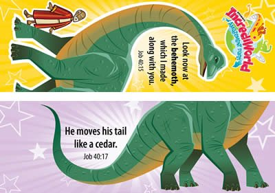 IncrediWorld VBS: Behemoth Bookmark: NKJV