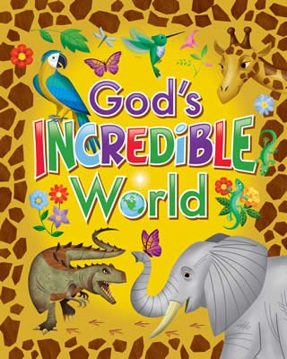 IncrediWorld VBS: God's Incredible World Booklet