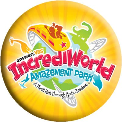 IncrediWorld VBS: Logo Button