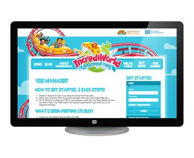 IncrediWorld VBS: VBS Web Manager Access