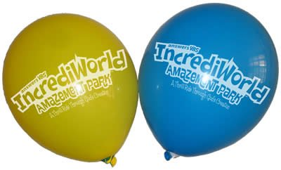 IncrediWorld VBS: Logo Balloons