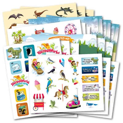 IncrediWorld VBS: Variety Sticker Pack