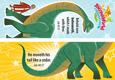 IncrediWorld VBS: Behemoth Bookmark: KJV