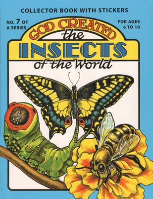God Created Insects