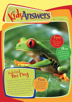 Kids Answers Mini-magazine - Vol. 1 No. 1: Single copy