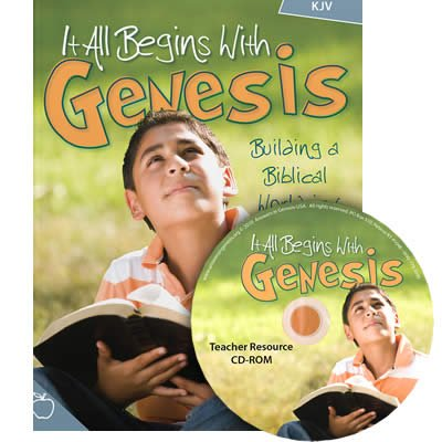It All Begins with Genesis Teacher Resources: KJV