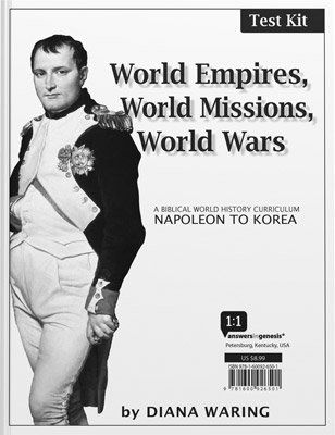History Revealed: World Empires, World Missions, World Wars - Test Kit