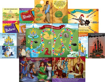 Kingdom Chronicles VBS: Junior Teaching Posters