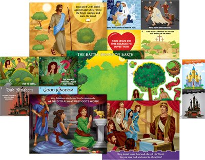 Kingdom Chronicles VBS: Toddler Teaching Posters