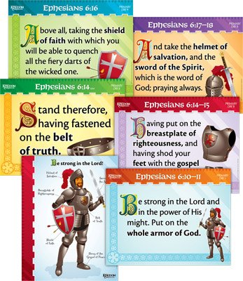 Kingdom Chronicles VBS: PrimaryMemory Verse Posters