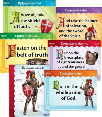 Kingdom Chronicles VBS: Pre-Primary Memory Verse Posters