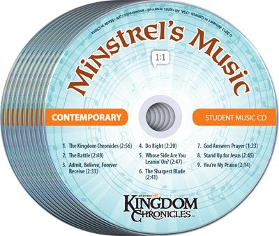 Kingdom Chronicles VBS: Student CD: Contemporary