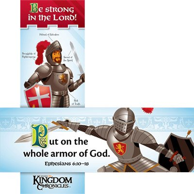 Kingdom Chronicles VBS: Armor of God Bookmark