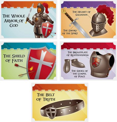 Kingdom Chronicles VBS: Armor of God Collectible Cards: NKJV