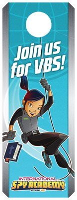 International Spy Academy VBS: Doorhangers