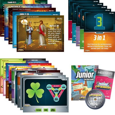 International Spy Academy VBS: Junior Teacher Resource Kit