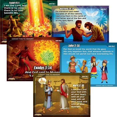International Spy Academy VBS: Junior Memory Verse Posters