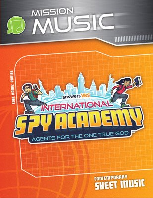 International Spy Academy VBS: Sheet Music: Contemporary