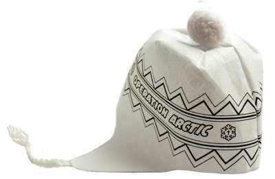 Operation Arctic VBS: Kids Coloring Snow Hat