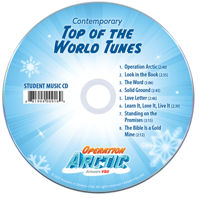 Operation Arctic VBS: Contemporary Student CD Single Copy