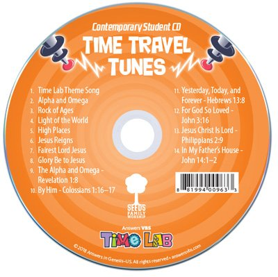 Time Lab VBS: Contemporary Student Music Audio CD: 10 Pack