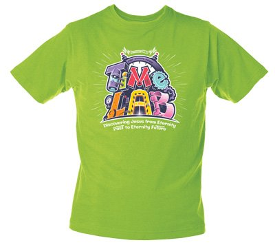 Time Lab VBS: T-Shirt: Adult Medium