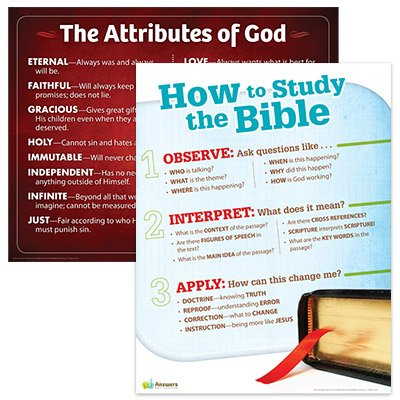 ABC Sunday School: Classroom Posters