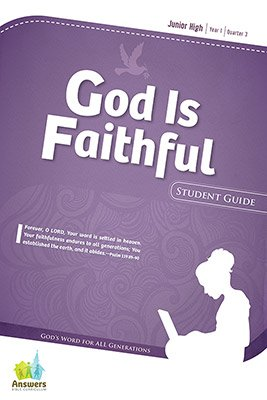ABC Sunday School (Y1): Student Guide - Junior High : Quarter 3