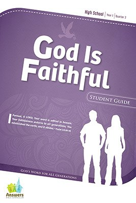 ABC Sunday School (Y1): Student Guide - High School: Quarter 3