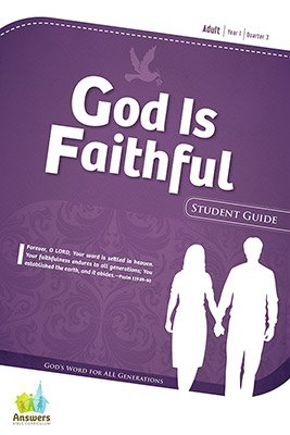ABC Sunday School (Y1): Student Guide - Adults: Quarter 3