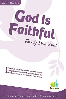 ABC Sunday School (Y1): Family Devotional - Adults: Q3 5-pack