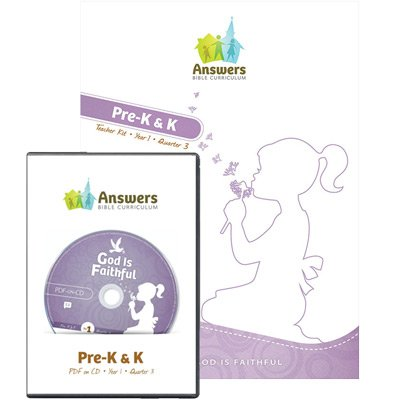 ABC Preschool Teacher Kit Print/CD-ROM Combo (Y1): Quarter 3