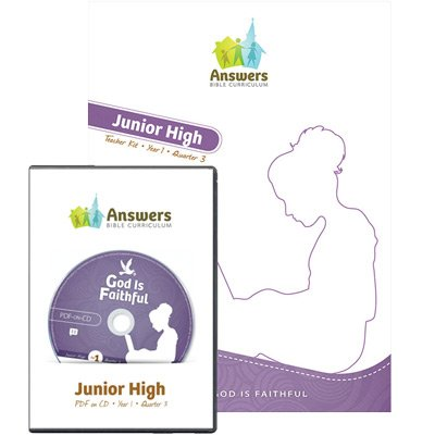 ABC Junior High Teacher Kit Print/CD-ROM Combo (Y1): Quarter 3