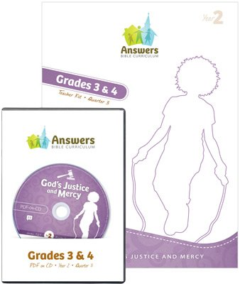 ABC Grades 3&4 Teacher Kit Print/CD-ROM Combo (Y2): Quarter 3