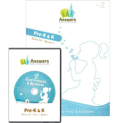 ABC Preschool Teacher Kit Print/CD-ROM Combo (Y2): Quarter 4