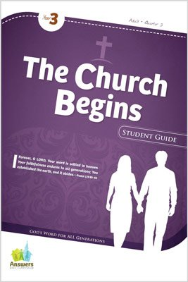 ABC Sunday School (Y3): Student Guide - Adults: Quarter 3