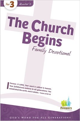 ABC Sunday School (Y3): Family Devotional - Adults: Q3