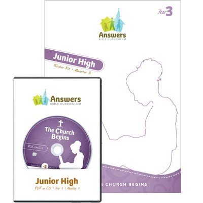 ABC Junior High Teacher Kit Print/CD-ROM (Y3): Quarter 3